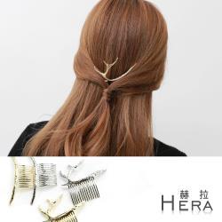 Hera 赫拉  金屬森林風造型髮插/髮梳(2款)