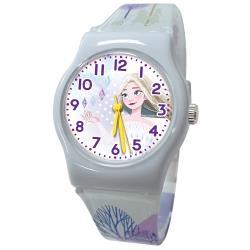 【Disney 迪士尼】冰雪奇緣2優美魔幻神秘旅程 兒童手錶-K唯美艾莎