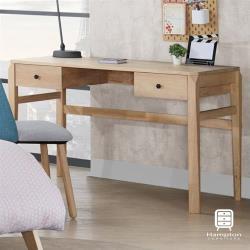 【Hampton 漢汀堡】伊唯系列全實木書桌