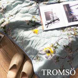 TROMSO-都會北歐水洗棉薄款夏涼被_200x148cm 藍海花開