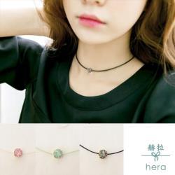 【HERA 赫拉】蛋白鑽糖果色頸鍊(3色)