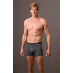 【Yorn】奧地利藍精公司天絲纖維-男織帶千鳥格印花平口褲Y29211P1284A