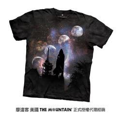 【摩達客】美國進口The Mountain Smithsonian系列哥倫比亞號首次發射 純棉環保短袖T恤