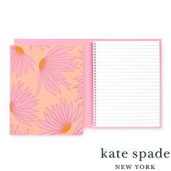 美國 Kate Spade Falling Flower 馥郁花蕾線圈筆記本