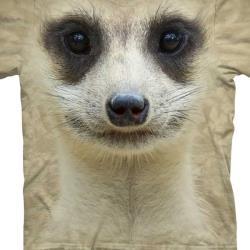 【摩達客】Classic自然純棉系列  貓鼬臉 T恤