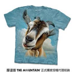 摩達客 自然純棉系列 山羊頭 T恤