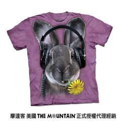 【摩達客】自然純棉系列  DJ嘻哈兔 T恤