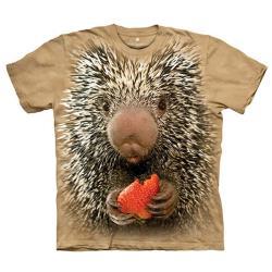 【摩達客】美國進口The Mountain Smithsonian系列豪豬寶寶 純棉環保短袖T恤