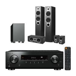 Pioneer 先鋒 VSX-326+Jamo S426 黑色+S-13W(最新5.1環迴立體音響組合/5.1聲道 家庭劇院組)