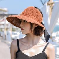 Acorn*橡果-韓系編織防曬遮陽帽漁夫帽沙灘帽紳士帽1837(焦糖)