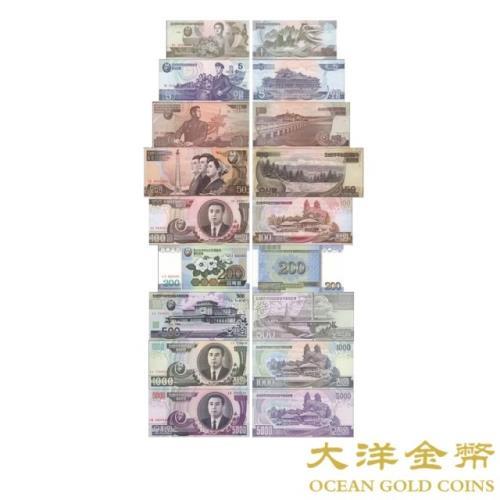 【台灣大洋金幣】北韓/朝鮮