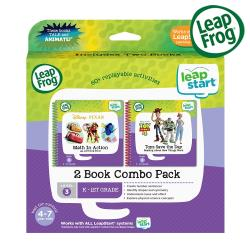 【LeapFrog】Leap Start 迪士尼 玩具總動員3D+數學特攻隊3D
