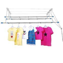 CB005-1 三桿式升降曬衣架(含桿)三竿式 拉繩式晾衣架 不鏽鋼 聰明會煞車的升降曬衣架 窗簾式省力曬衣架 晒衣架