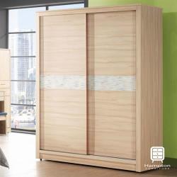【Hampton 漢汀堡】尤拉系列5x7尺衣櫥