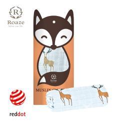 【Roaze 柔仕】 棉柔包巾毯-迷幻馴鹿