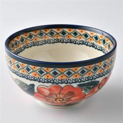 波蘭陶 艷夏扶桑系列 餐碗 12cm 波蘭手工製