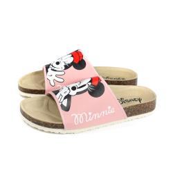 Disney 迪士尼 米妮 拖鞋 勃肯鞋 粉紅色 女鞋 D120146W no018