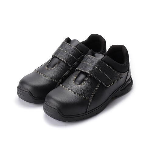 PAMAX寬魔鬼氈機能鋼頭安全鞋黑男鞋鞋全家福