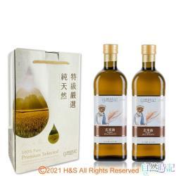 【自然時記】玄米油禮盒(1L*2瓶)