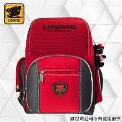 (UnMe)台灣製專櫃書包/減壓書包/護脊書包/中高年級(紅色3211)