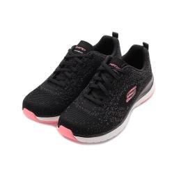 SKECHERS 運動系列 ULTRA GROOVE 運動鞋 黑 149019BKPK 女鞋