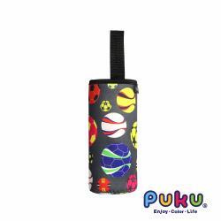 PUKU藍色企鵝 提帶水杯套 (16.5*6.5cm)-足球