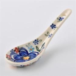 波蘭陶 春遊系列 湯匙 波蘭手工製