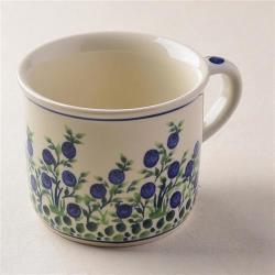 波蘭陶 粉紫浪漫系列 陶瓷馬克杯 400ml 波蘭手工製