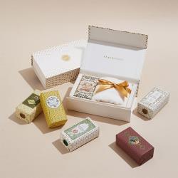 CLAUS PORTO 復古手工蠟封香氛皂+方巾禮盒