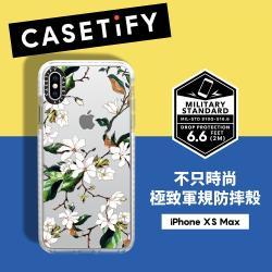 Casetify iPhone XS Max 耐衝擊保護殼-木蘭花
