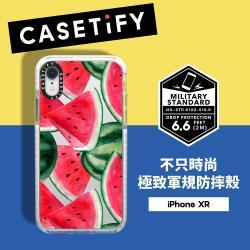 Casetify iPhone XR 耐衝擊保護殼-西瓜饗宴