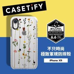 Casetify iPhone XR 耐衝擊保護殼-小花串