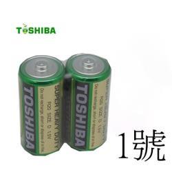 東芝 新環保高效能碳鋅電池1號8入
