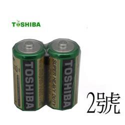 東芝 新環保高效能碳鋅電池2號12入