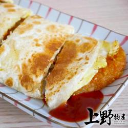 【上野物產】家庭號  特製硬皮酥脆蛋餅皮(1200g/包 20片/包) x4包