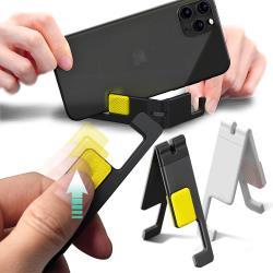 Baseus倍思 Lets go 迷你支架 V型 手機架 摺疊手機支架/ 桌面架-2個一組   不挑色
