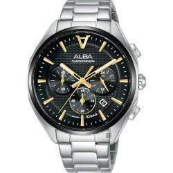 ALBA 雅柏 東京賽車計時手錶-42mm VD53-X366D(AT3G79X1)
