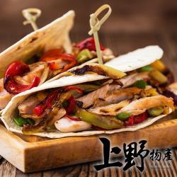 【上野物產】嚴選紅龍風味煙燻雞肉片(200g±10%/包)x6包