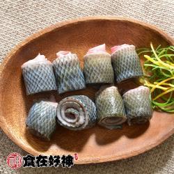 【食在好神】鮮嫩虱目魚皮(300G/包) x25包