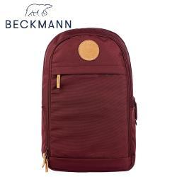 【Beckmann】成人護脊後背包Urban 30L - 酒紅