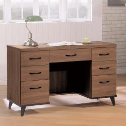 HD 麥納得淺胡桃4尺書桌