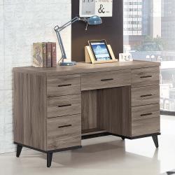 HD 麥汀娜古橡木色4尺書桌