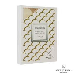 英國 Wax Lyrical 大地系列 石榴白茶 White Tea  Pomegranate 12入茶燭