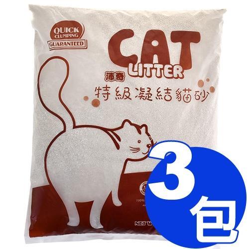 沛奇-特級凝結貓砂10L