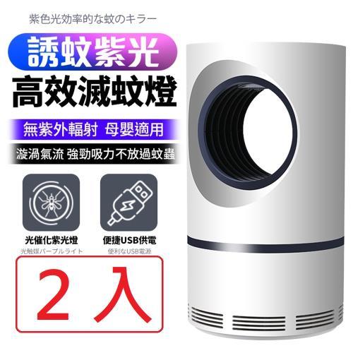 【買一送一】FJ新紫光USB高效滅蚊燈KLY-188(無提把款)/