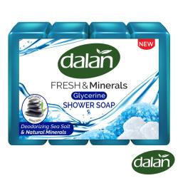【土耳其dalan】湛藍清新海鹽礦物皂150gX4入組