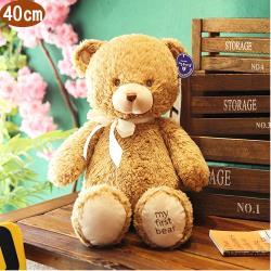 熊熊小熊絨毛娃娃玩偶40公分 45-00245-2【卡通小物】