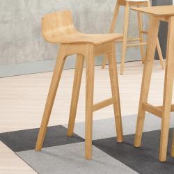 Boden-桑迪實木吧台椅/吧檯椅/高腳椅