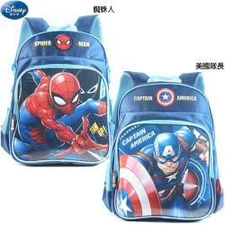 漫威英雄蜘蛛人美國隊長書包兒童後背包包雙肩背包 802928/802911【卡通小物】