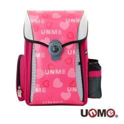 UnMe 夢想家U型護脊減壓磁扣書包-百變俏甜心